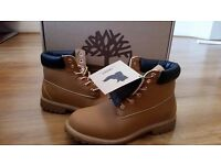 Timberland Boots Premium Quality For Men Sizes 6-12. Tan And Black Available. ONLY £35!