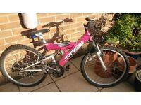 Ladies/Girls bike - great condition - dual suspension