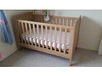 Mamas & Papas Rialto nursery set - cot/cotbed, drawers with changing top, wardrobe