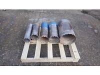 Diamond Hole Cutters for Concrete Set ( 300 ,200,180,150,100 mm )