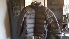 north face nuptse jacket size large. never worn