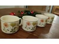 4 coffee cups