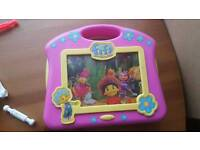 Fifi and the Flowertots battery operated musical TV Used condition.