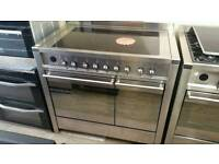 100cm smeg induction range cooker only used a couple of times !!!