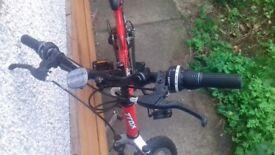 Trax TFS1 dual suspension mountainbike unisex