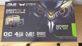 Asus NVIDIA GTX 980 STRIX Direct CU II OC Graphics Card – 4GB