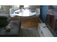 dining room table 3 chairs