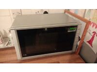 Silver Kenwood Microwave Oven
