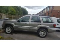 Jeep Grand Cherokee 2.7 CRD Automatic,Limited Station Wagon 4x4 5dr