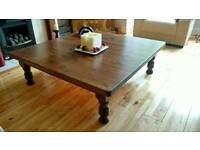 Large stained coffie table