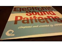 Rare electronic sound patterns sealed vinyl record