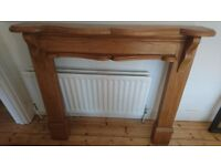 Carved Solid Oak Fire Surround