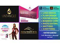 Freelance Graphic designer   Flyer Design, Logo design, documents or statement editing
