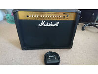 Marshall MG250 DFX Guitar Amp (with cover & footpedal)