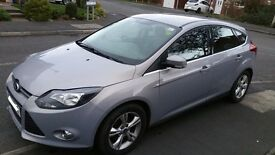 Ford Focus, Zetec, 5 door, Petrol, Moon dust grey colour