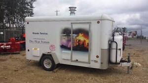 Aqua Dry Natural Gas Flood Recovery Drying Trailer (new over $80k Blowing out $19,995