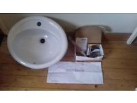 Vanity Basin and Mixer Tap (haverhill area but can arrange to meet/deliver locally)