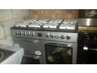 BRAND NEW sliver leisure range cooker for sale - warranty included