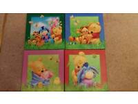 Winne the Pooh canvases