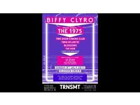 2x TRNSMT VIP Sunday day tickets (Biffy Clyro / The 1975 and more)