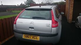 Citroen C4 Cool, 1.6 petrol, MOT until June 2018, F.S.H. 62,000 miles. Clean and reliable