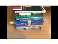 Sociology/Social Policy books!!! job Lot of Sociology/ Social Policy books!
