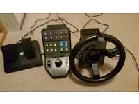 Farming simulator pc wheel good condition