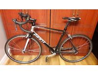 GIANT Defy Road Bike, high grade aluminium, frame size 56cm, like new Continental Gatorskin tyres
