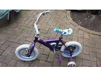 Girl bicycle size 12'