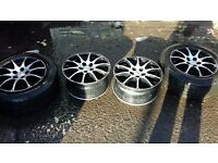 """16"""" ALLOYS CAME OFF VW PASSAT CHEAP WHEELS TO MAKE YOUR CAR LOOK BETTER"""