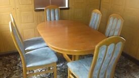 Dining Table and Six chairs plus China cabinet