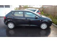 Seat Ibiza 1.2, black, 5 door
