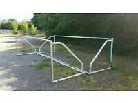 Full size five a side goal post