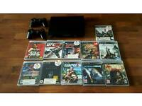 PS3 500GB + 11 games