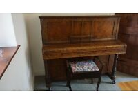 Free Piano (works ok, want to get rid of it as its quite large)
