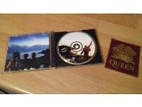 queen collectors cd and pocket patch