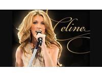Celine Dione tickets x2 july 27