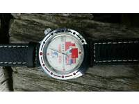 Peace march military watch