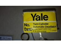 Brand new boxed Yale twin cylinder automatic deadlock