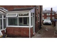 Porches supplied and fitted . Window and doors supplied and fitted