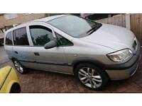 Vauxhall zafira 7 seater 1.8 16v automatic with LPG gas fitted