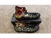 Official Dark Knight Rises Limited Edition Bane Themed Converse Hi-Tops - Mens UK Size 9