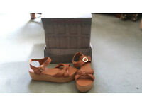 Red or Dead Tan Sandals (sz 5) New condition. £65 new, selling for £20. Postage only.