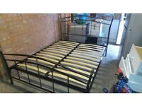 King size metal bed for sale