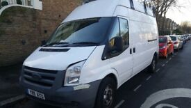 Ford Transit 2011. T110, 350..LWB, High Top.