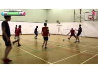 Friday Night Futsal 6 vs 6 players | Casual Indoor Football | Central Leeds