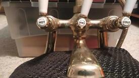 Bronze Bristan mixer tap
