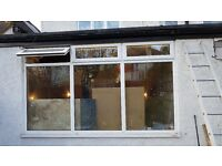 Double glazed window - immaculate condition - £295 (or nearest offer) - 303cm wide by 181 cm high