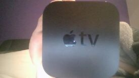 Apple Tv, rarely used and kept inside box for safe keeping. 1080p or 720p video capability.