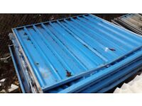 Solid Hoarding Fencing Panels